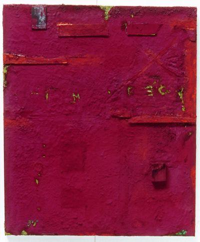 Anna Caione Ombre Terra 2004 Anna Caione  pigment _ mixed media on canvas, 100cm x 120cm