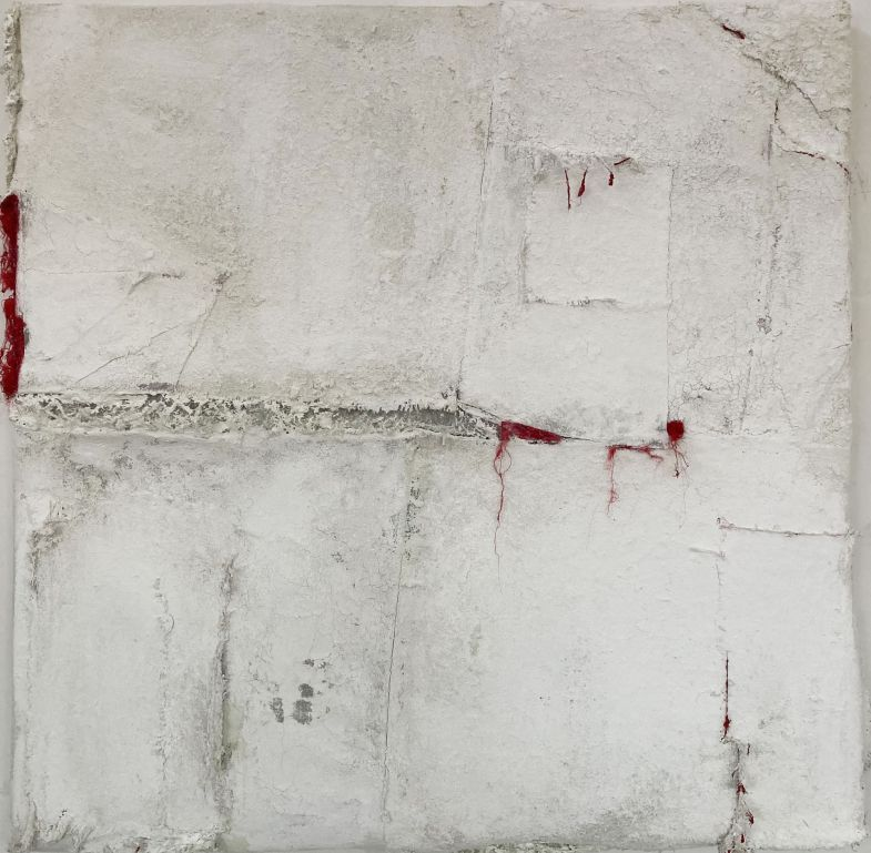 Anna Caione Split19 ,2020 Pigment and Mixed Media on canvas