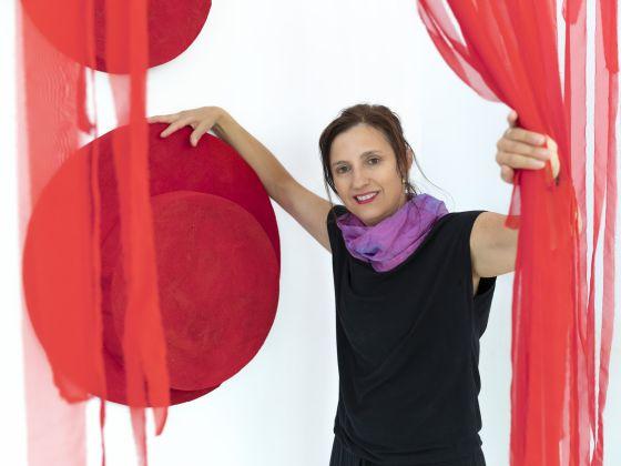 Artist Anna Caionet