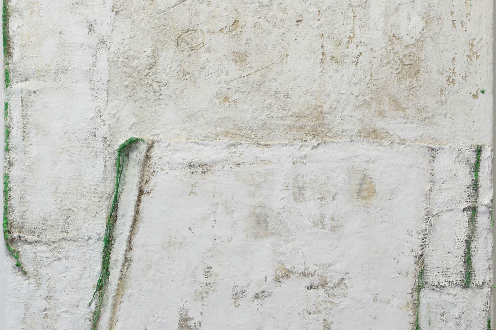 terra firma, pigment, mixed media, 2009   100 x 100cm